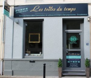 Atelier de restauration de tableaux et objets d art Encadrement Lambersart Lille