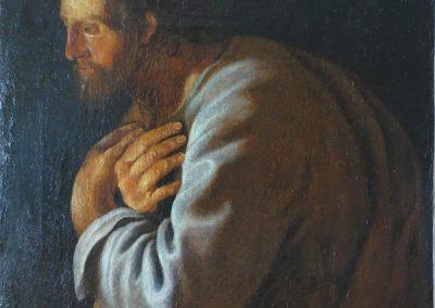 Saint Joseph - Copie de la Nativité de Philippe de Champaigne - XVIIe s