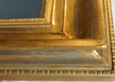 10. Masticage des lacunes, fissures et éclats – Reprise de la dorure – Méthode traditionnelle