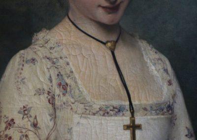 Peinture d'art - XIXe siecle - Joseph Caraud 1876 - Gallerie d'Art - Antiquités