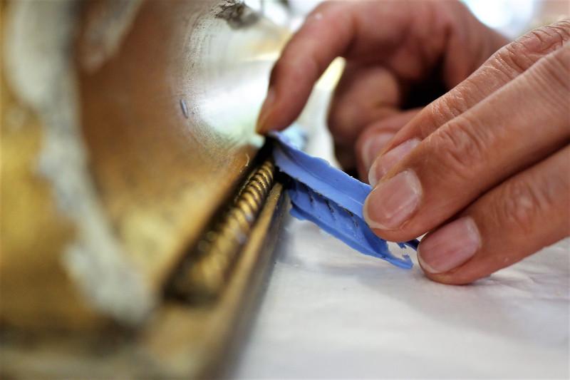 empreinte silicone moulure artisane art Lambersart