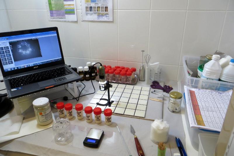 Expertise scientifique physique et chimique des matériaux constitutifs