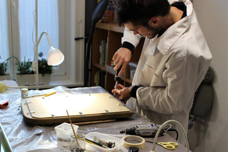 Etudiant fac Lille III - Stagiaire atelier Lambersart