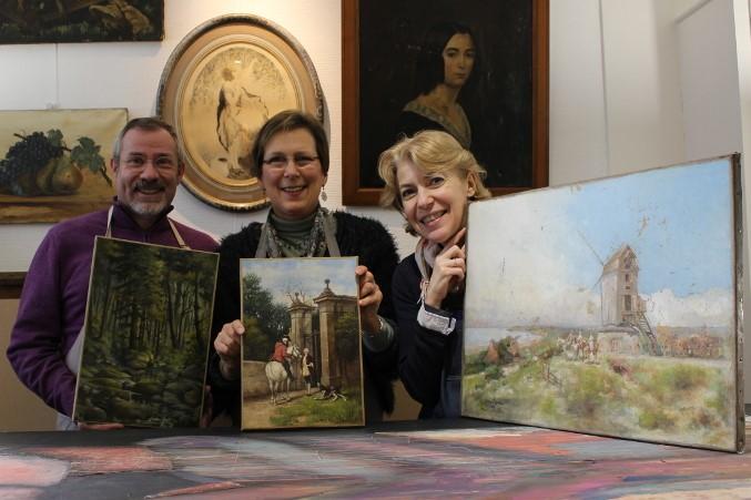 restauration de tableaux anciens - Métropole lilloise - Nord