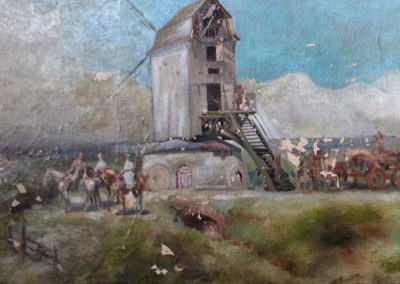 Altérations de la couche picturale - Restauration de tableaux endommagés