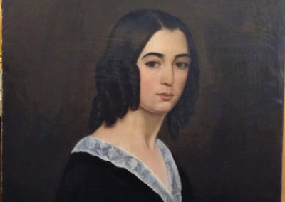 Portrait peint sur toile - Les toiles du temps
