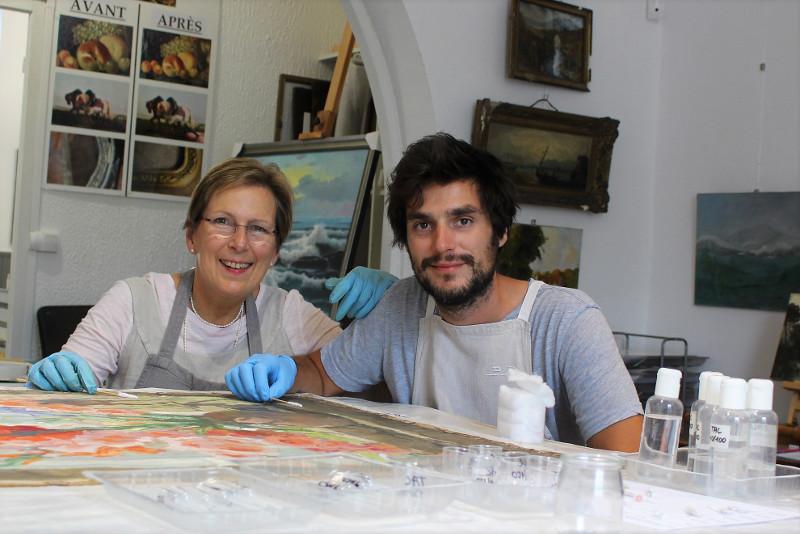 Restauration de tableaux - Décrassage peinture - Lambersart