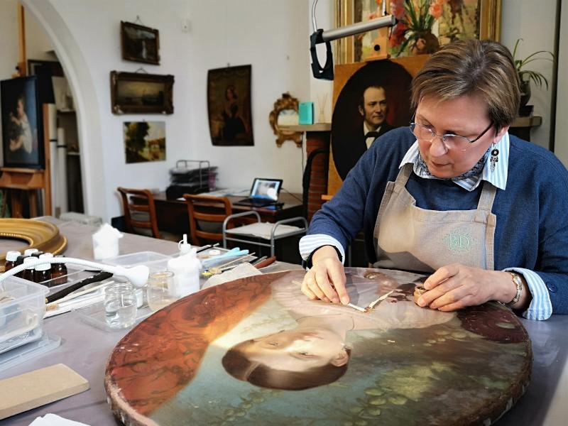 Atelier de restauration de tableaux - Englos