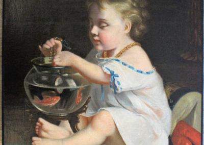 8. Dégagement des restaurations antérieures - Reconstitution esthétique du dessin de la main d'origine et autres lacunes